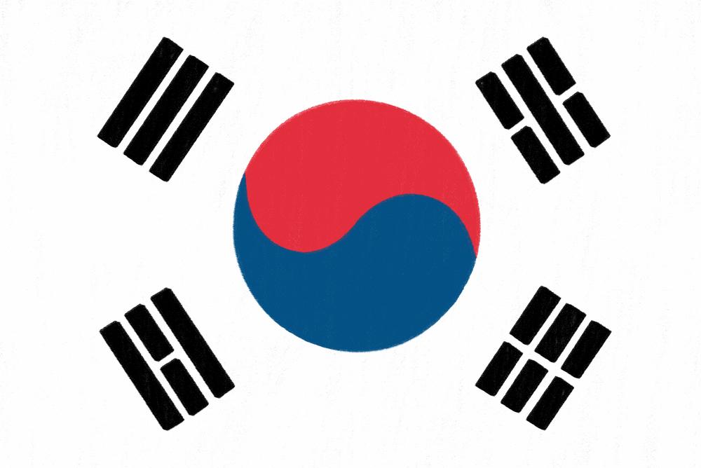 Corea flag