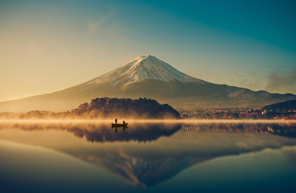 Giappone vulcani monte fuji