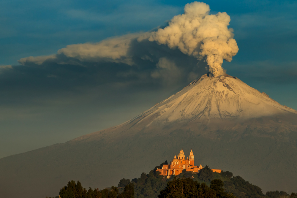 Popocatépetl Viaggio in Messico