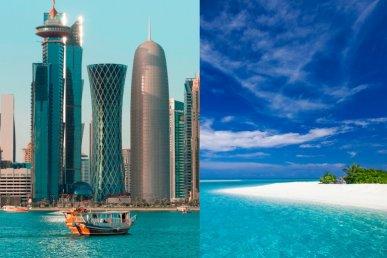 Qatar e Maldive: dal deserto al mare
