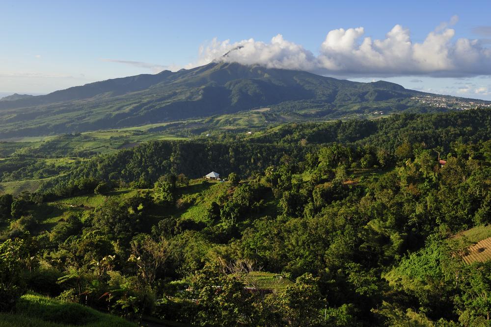 Mount Pelé La Martinica