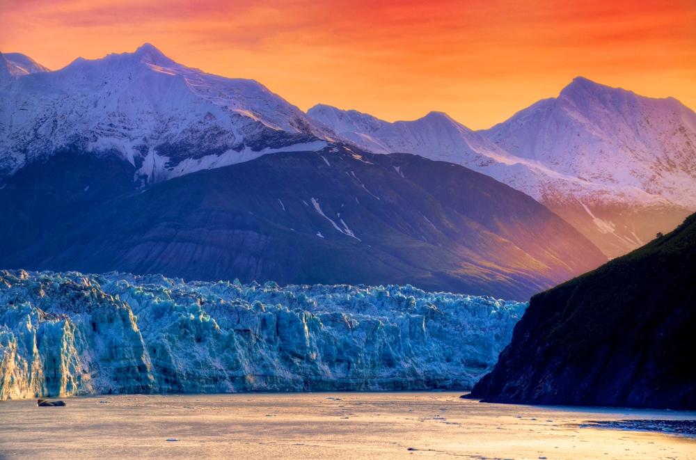 viaggio in Alaska Glacier