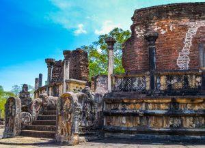 Ceylon Anuradhapura tempio