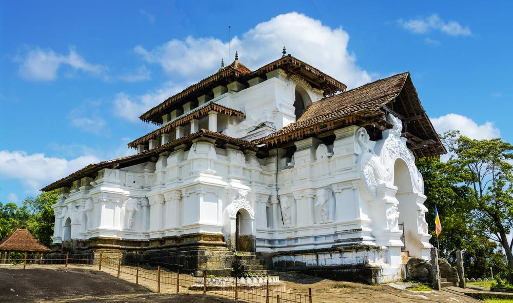Ceylon Lankathilaka tempio