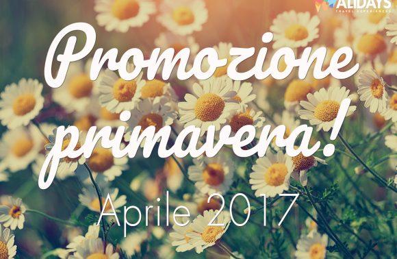 Promozione Primavera – Aprile 2017