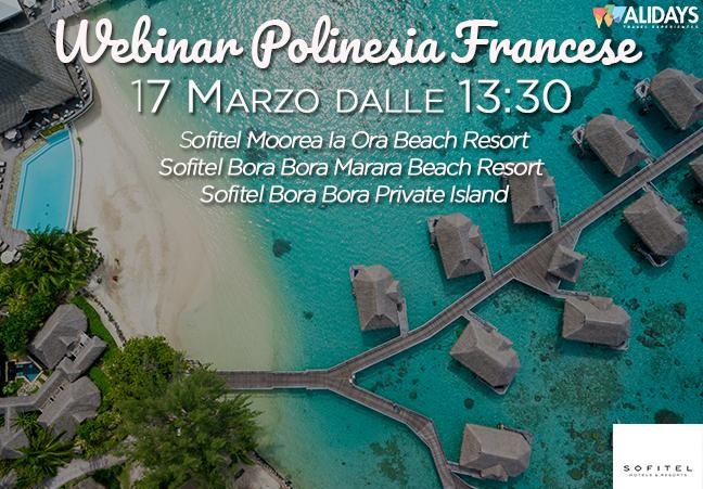 Webinar Sofitel Polinesia 17 marzo 2017