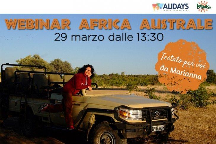 Webinar Africa Australe, 29 marzo 2017