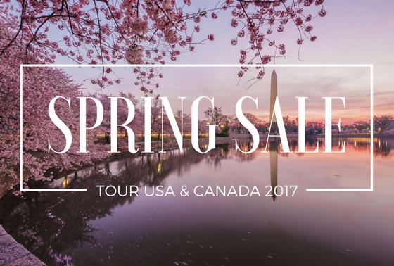 Spring Sale – Tour guidati USA e Canada 2017