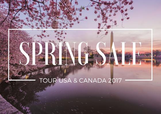 tour usa canada spring sale