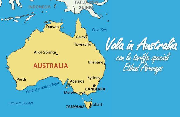 Australia: tariffe speciali Etihad in esclusiva per Alidays