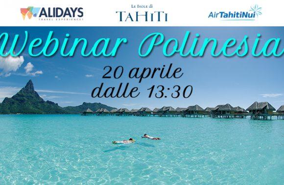 Webinar Polinesia, 20 aprile 2017