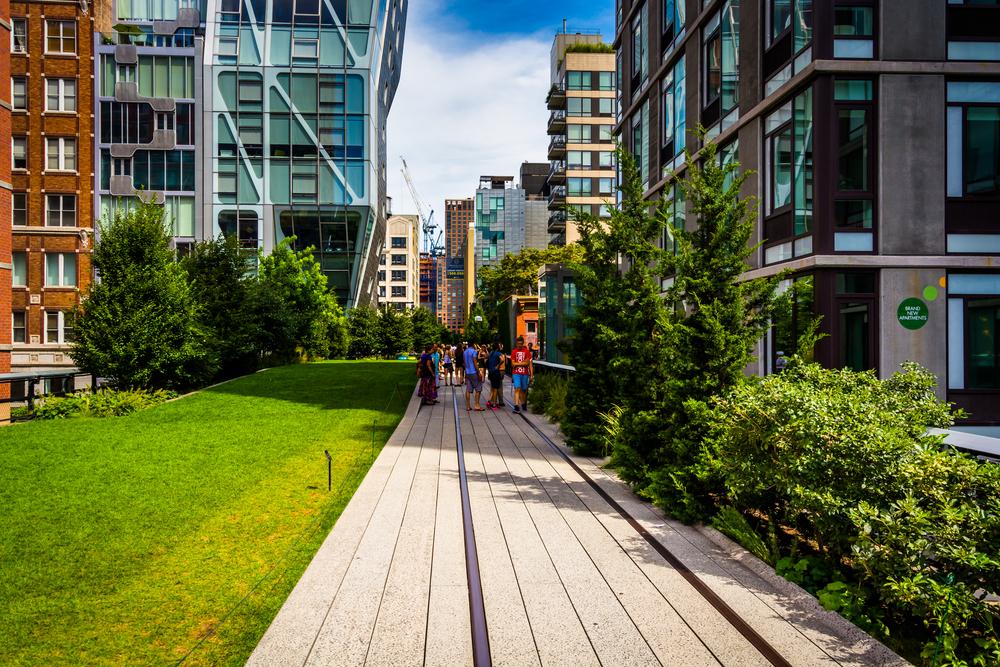 New York Ecofriendly High Line