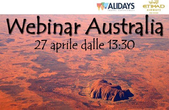 Webinar Australia, 20 aprile 2017