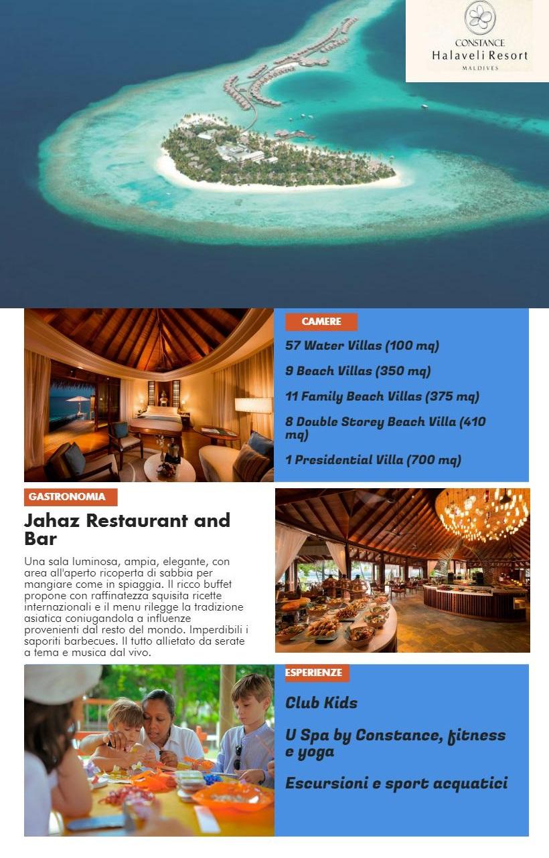 Ecoturismo e Relax alle Maldive Constance Halaveli Locandina