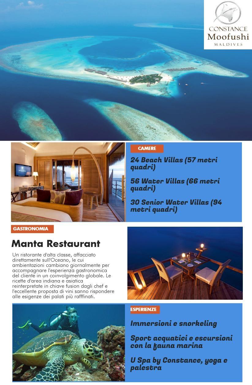 Ecoturismo e relax alle Maldive Constance Moofushi