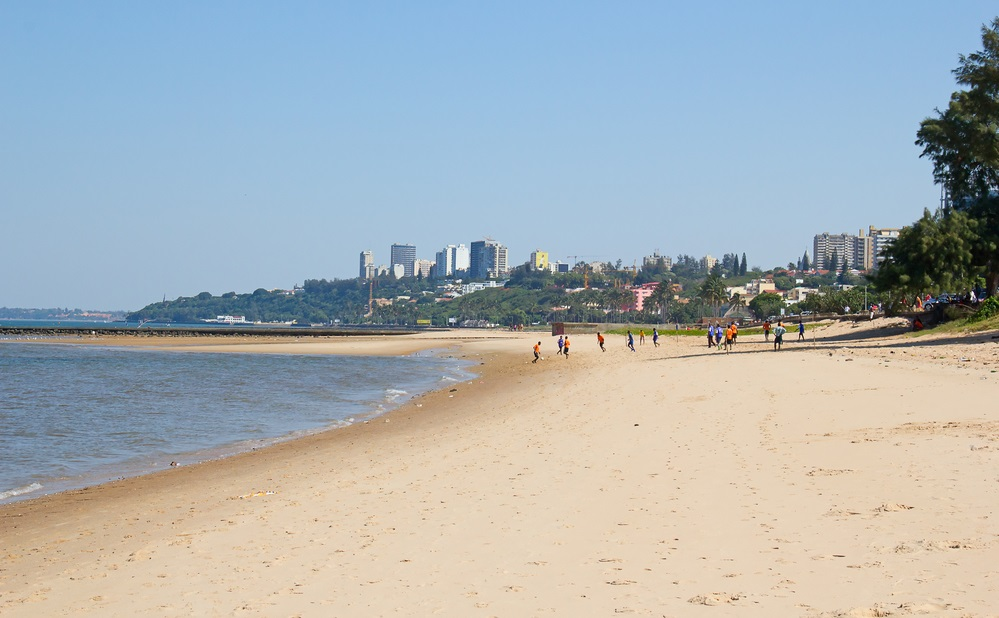 Maputo mare in mozambico