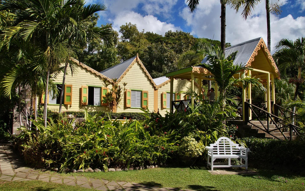 Saint Kitts & Nevis Romney Manor