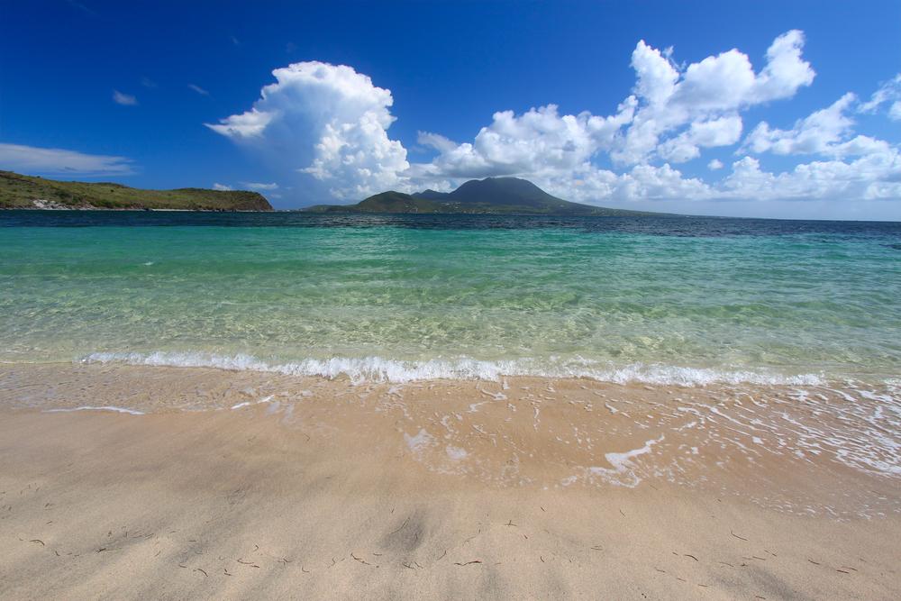 Saint Kitts e Nevis spiaggia