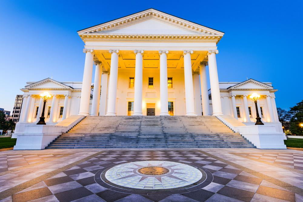 architetture neoclassiche negli USA US State Capitol Richmond