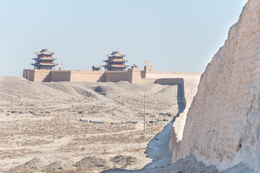 Viaggio in Gansu Jiayuguan fortezza