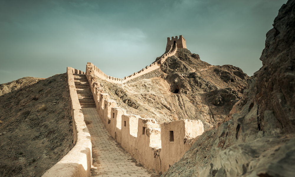 Viaggio in Gansu cina
