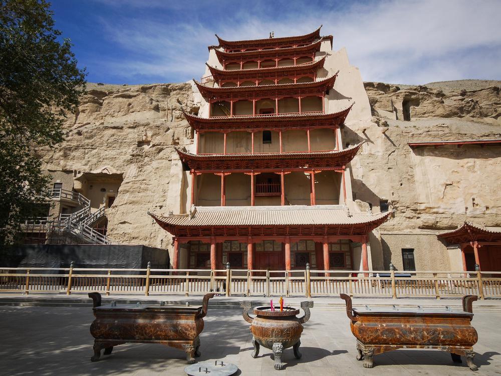 Viaggio in Gansu mogao