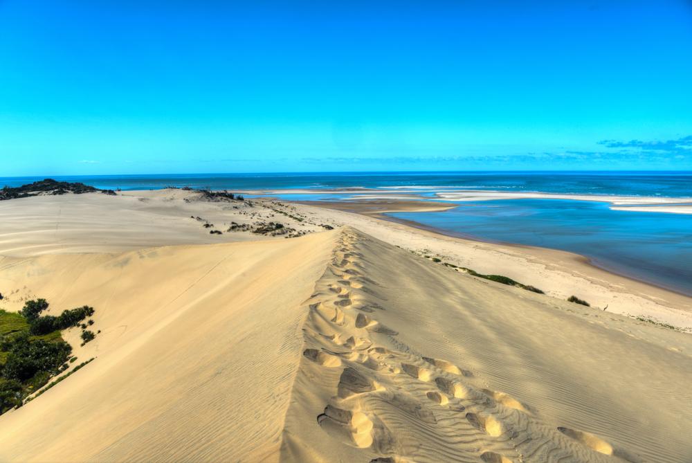 mare in mozambico bazaruto