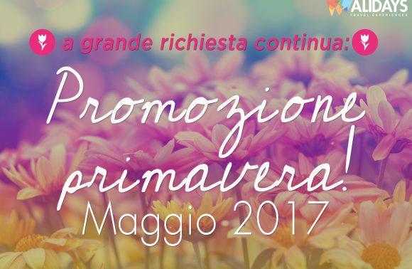Promozione Primavera – Maggio 2017