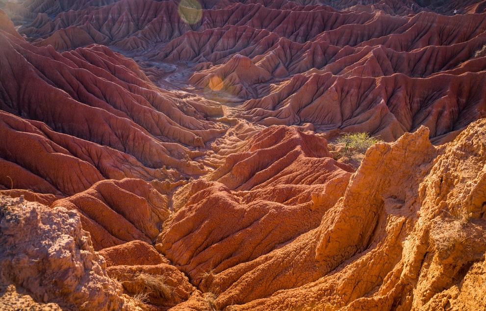 Patrimoni UNESCO della Colombia Tatacoa Deserto