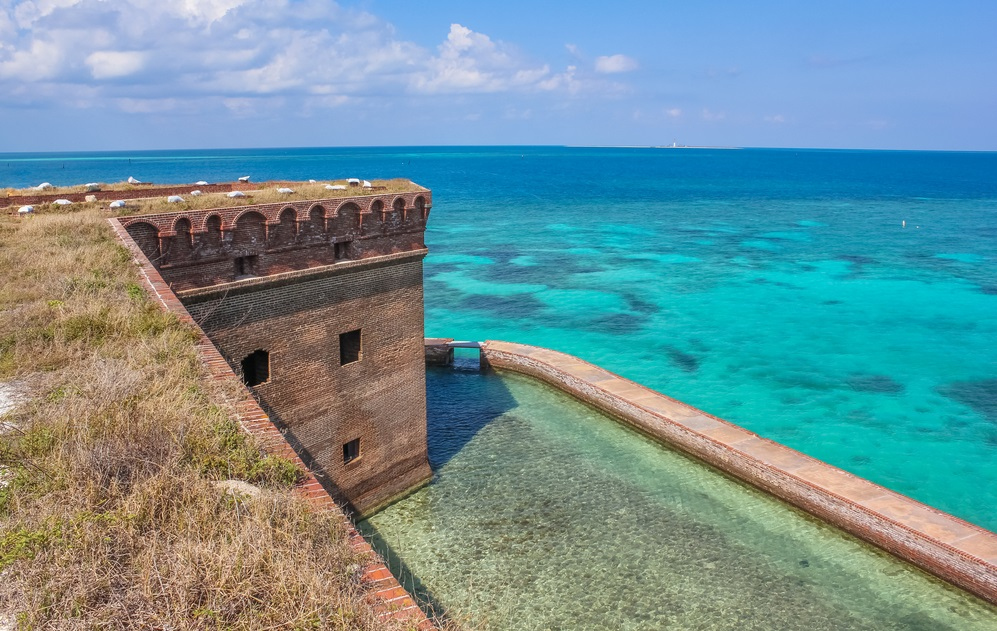 Fortezze americane sul Golfo del Messico Fort Jefferson particolare