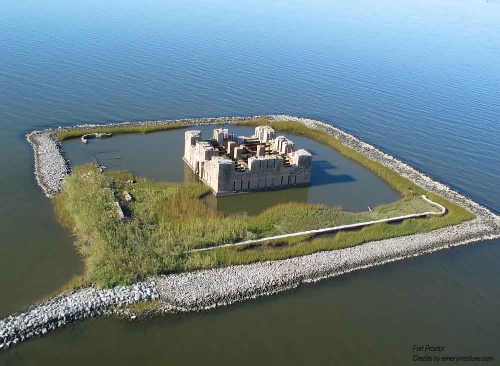 Fortezze americane sul Golfo del Messico Fort Proctor