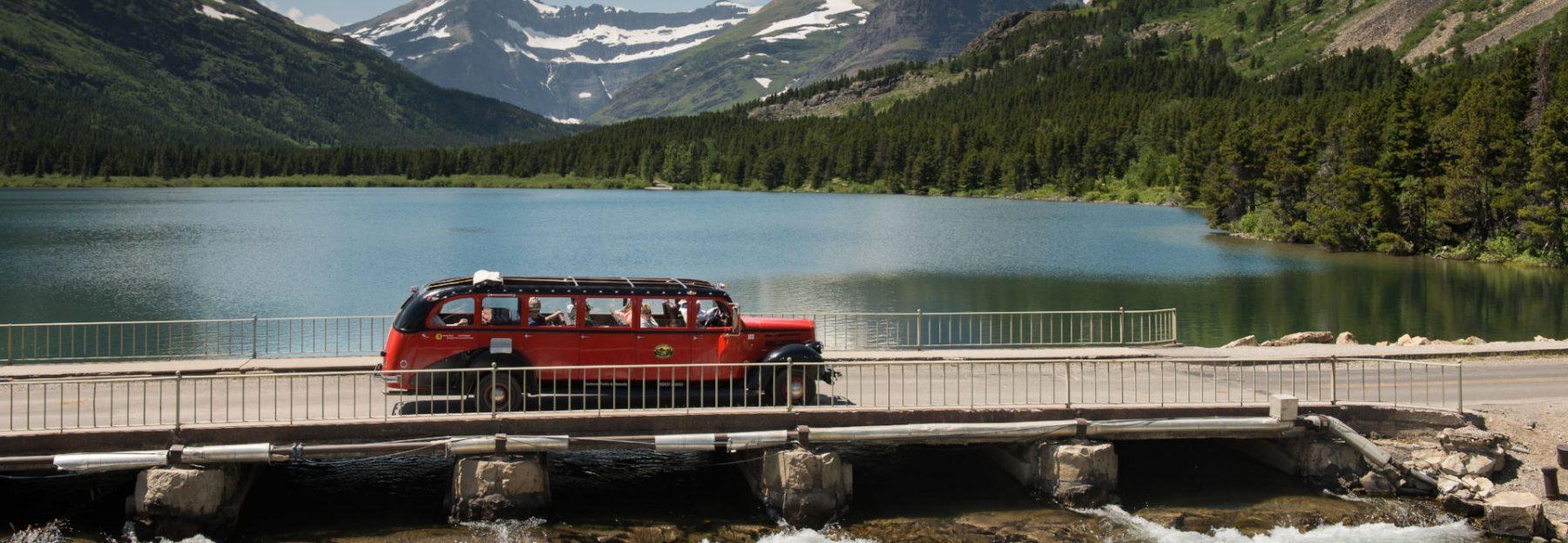 Viaggio nella Real America Swiftcurrent Lake, Glacier National Park