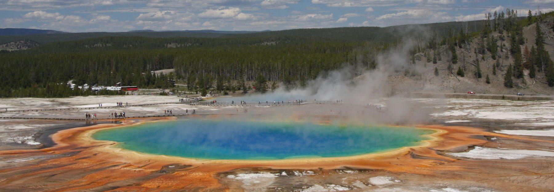 Viaggio nella Real America Yellowstone Landing Page