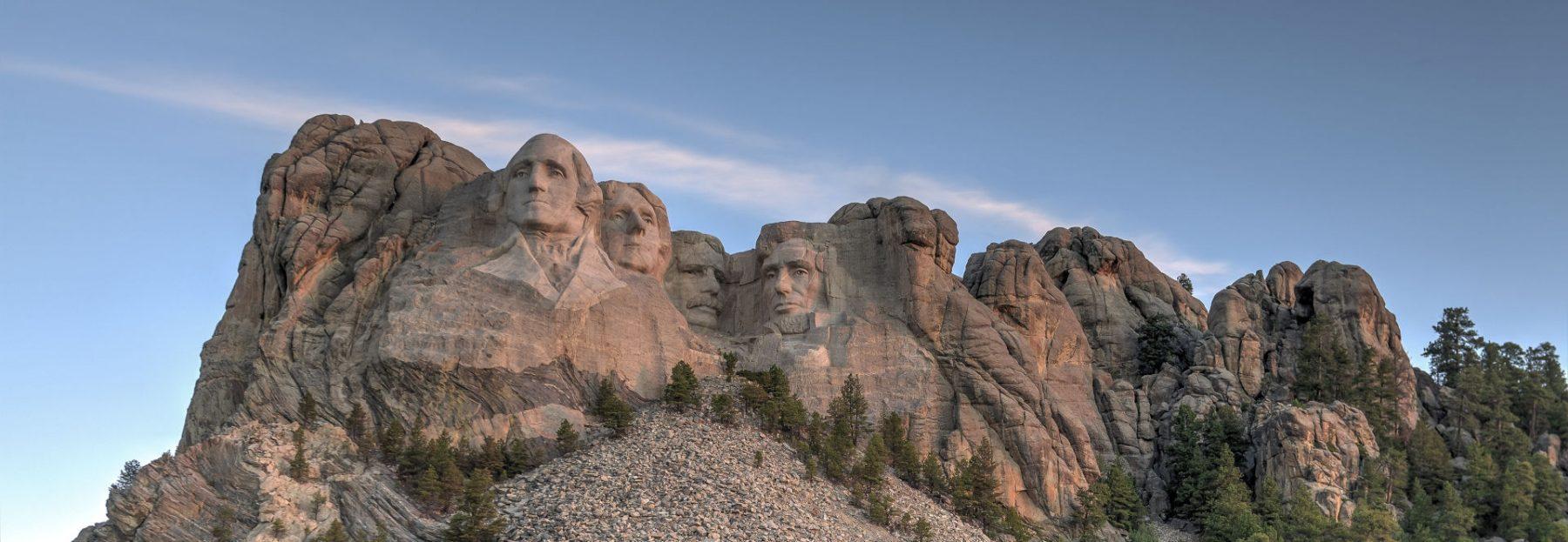 Viaggio nella Real America Rushmore Landing Page