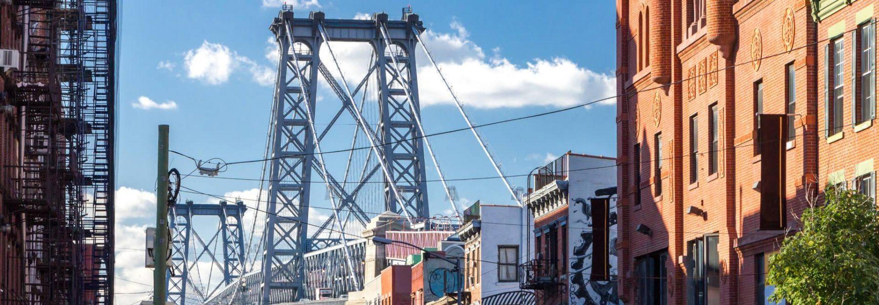 Viaggio a New York Williamsburg Ponte di Brooklyn