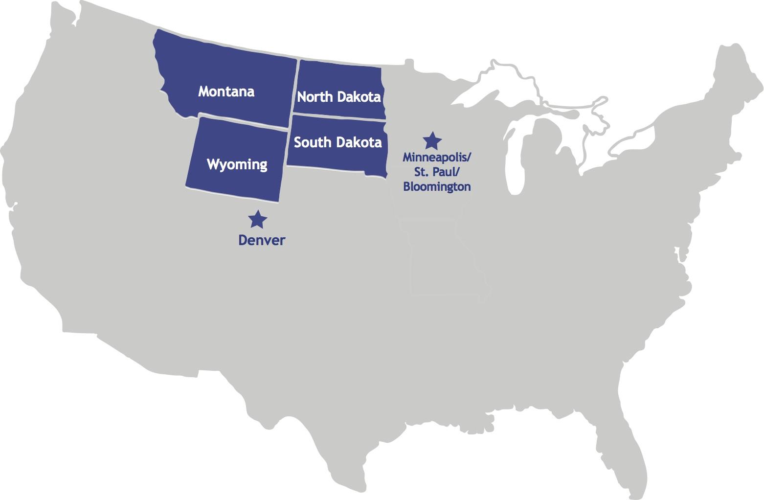 Viaggio nella Real America Mappa