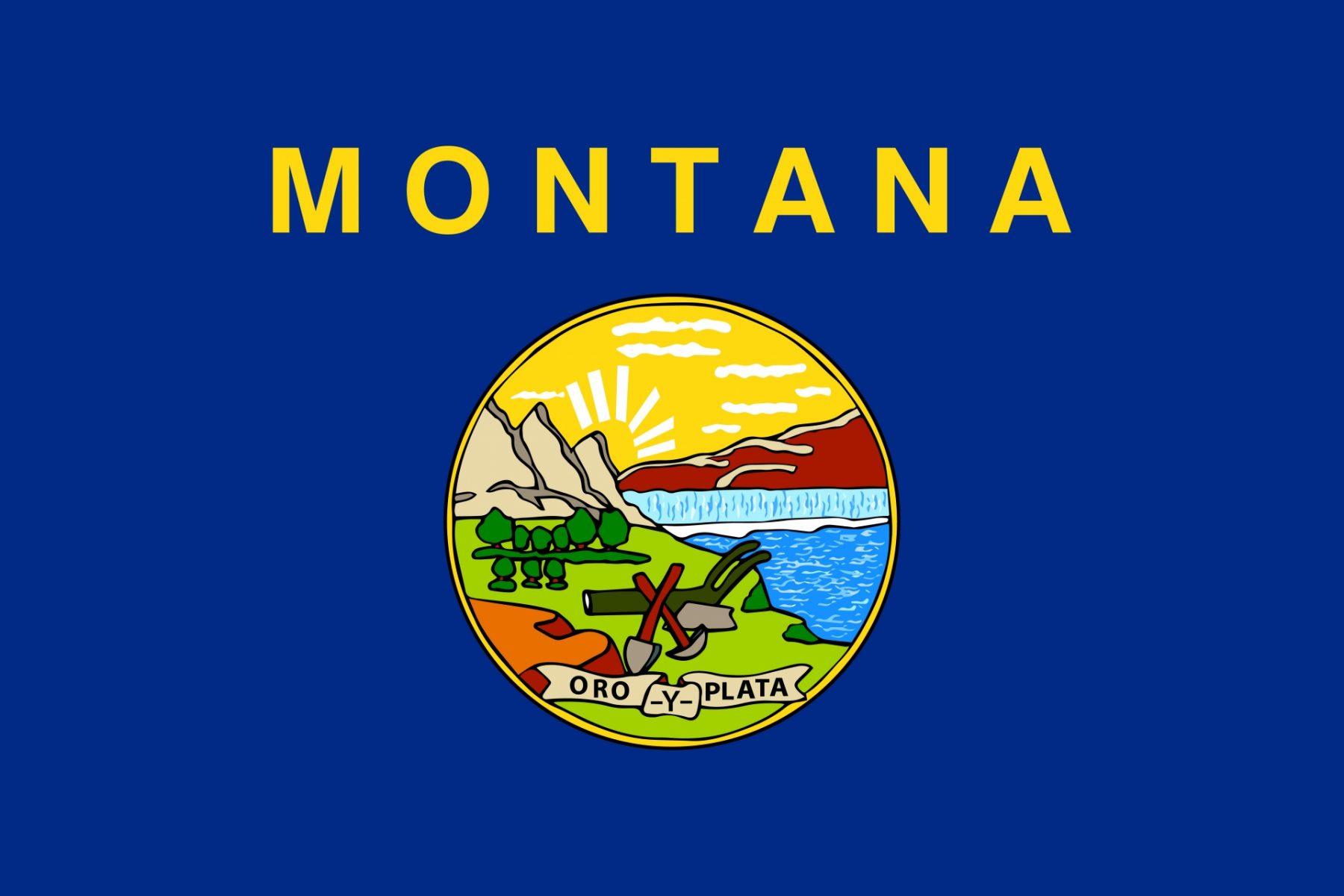 Viaggio nella Real America Montana Bandiera