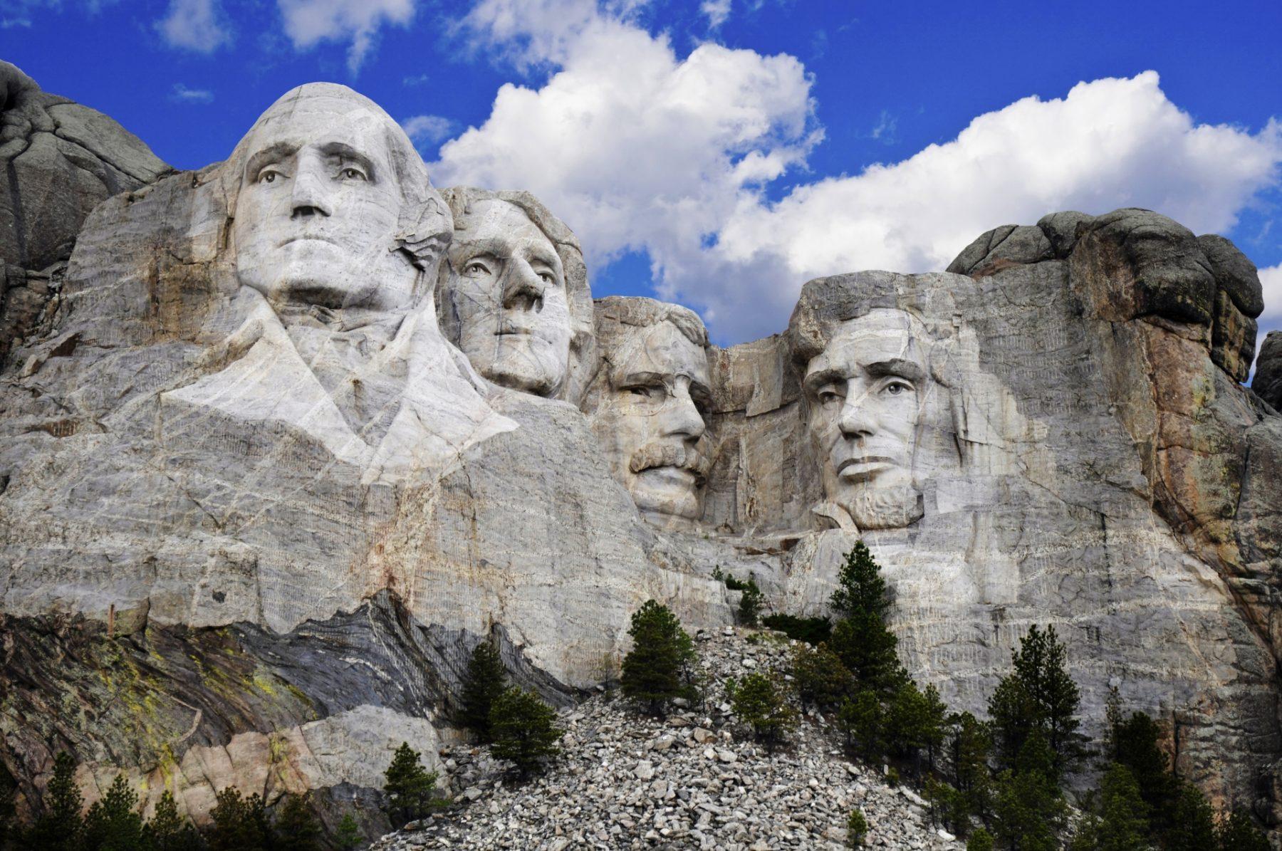 Viaggio nella Real America Mt. Rushmore