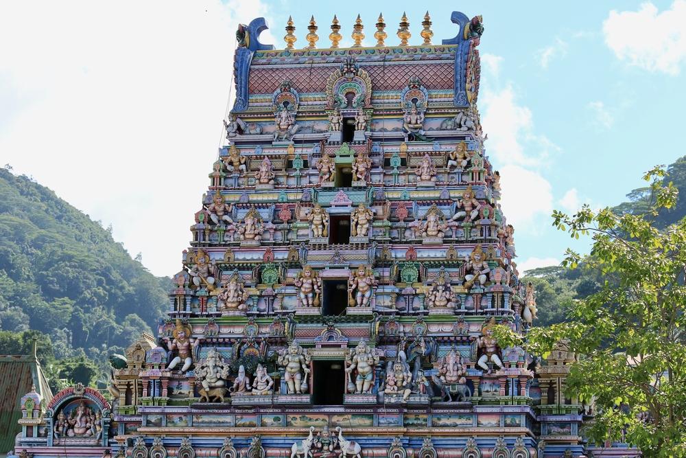 viaggio Seychelles tempio induista