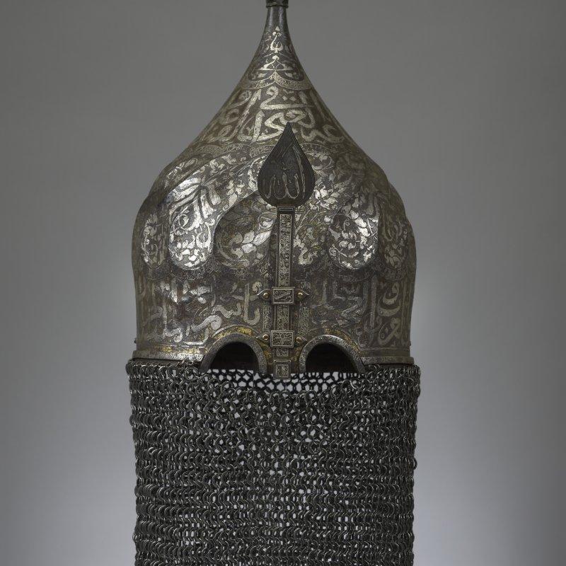 Turbante-elmetto Ak Koyunlu o ottomano, 2° meta del XV° secolo