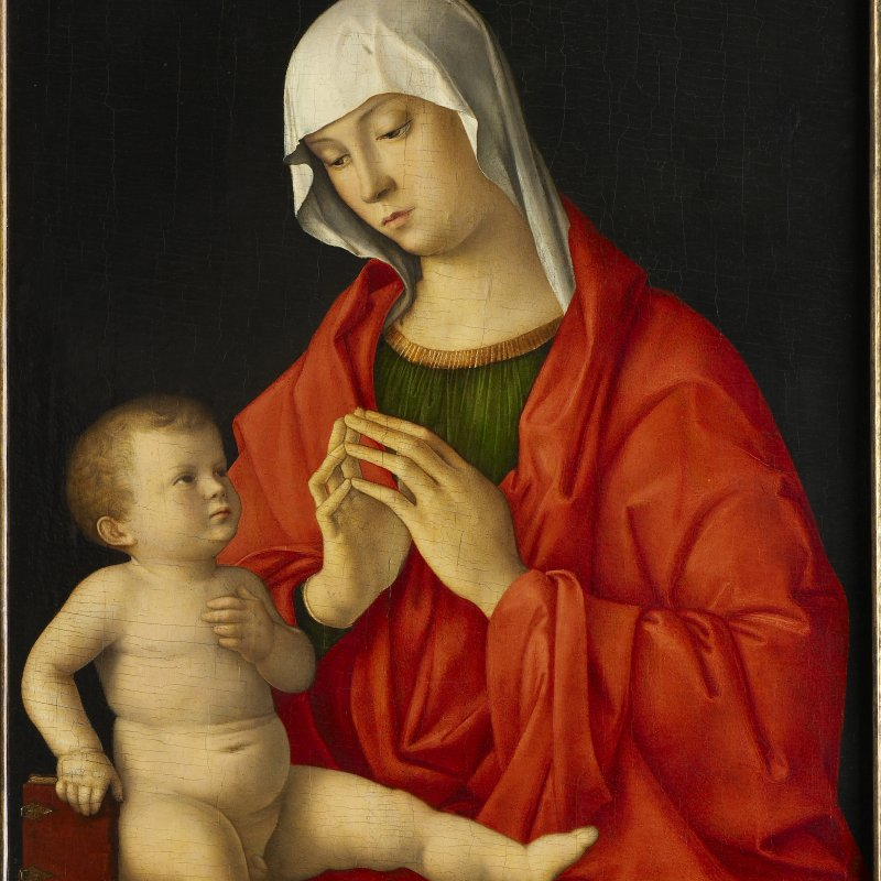 Giovanni Bellini, Madonna con Bambino, 1480-1485