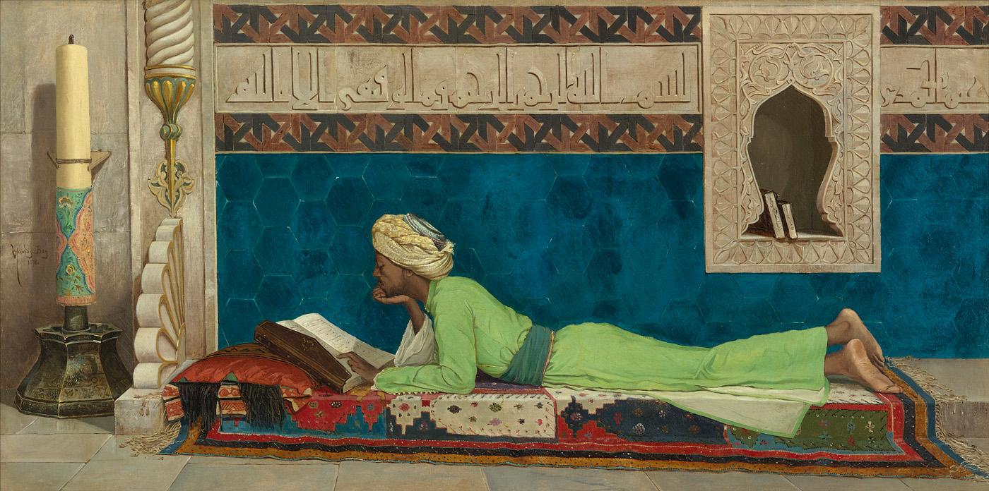 Museo Louvre di Abu Dhabi Osman Hamdi Bey,