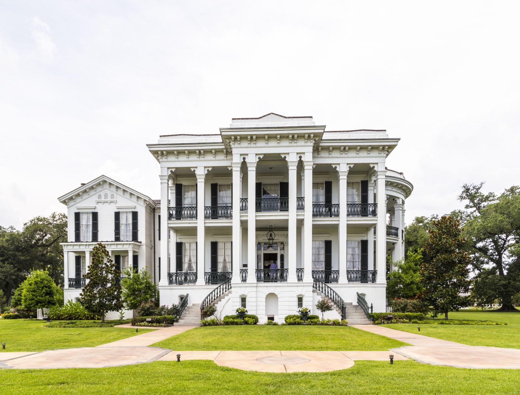 Le piantagioni della Louisiana viaggio Nottoway Plantation