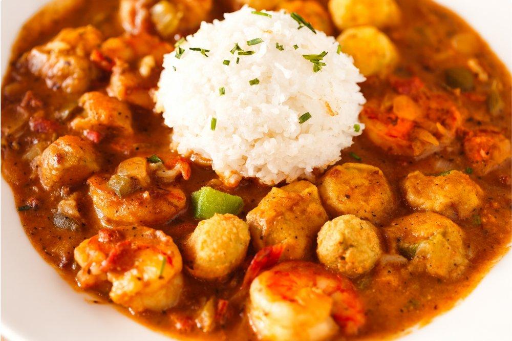 5 specialità creole e cajun gumbo