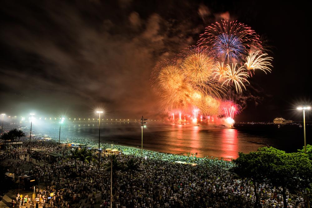 Capodanno nel mondo Capodanno a Rio de Janeiro
