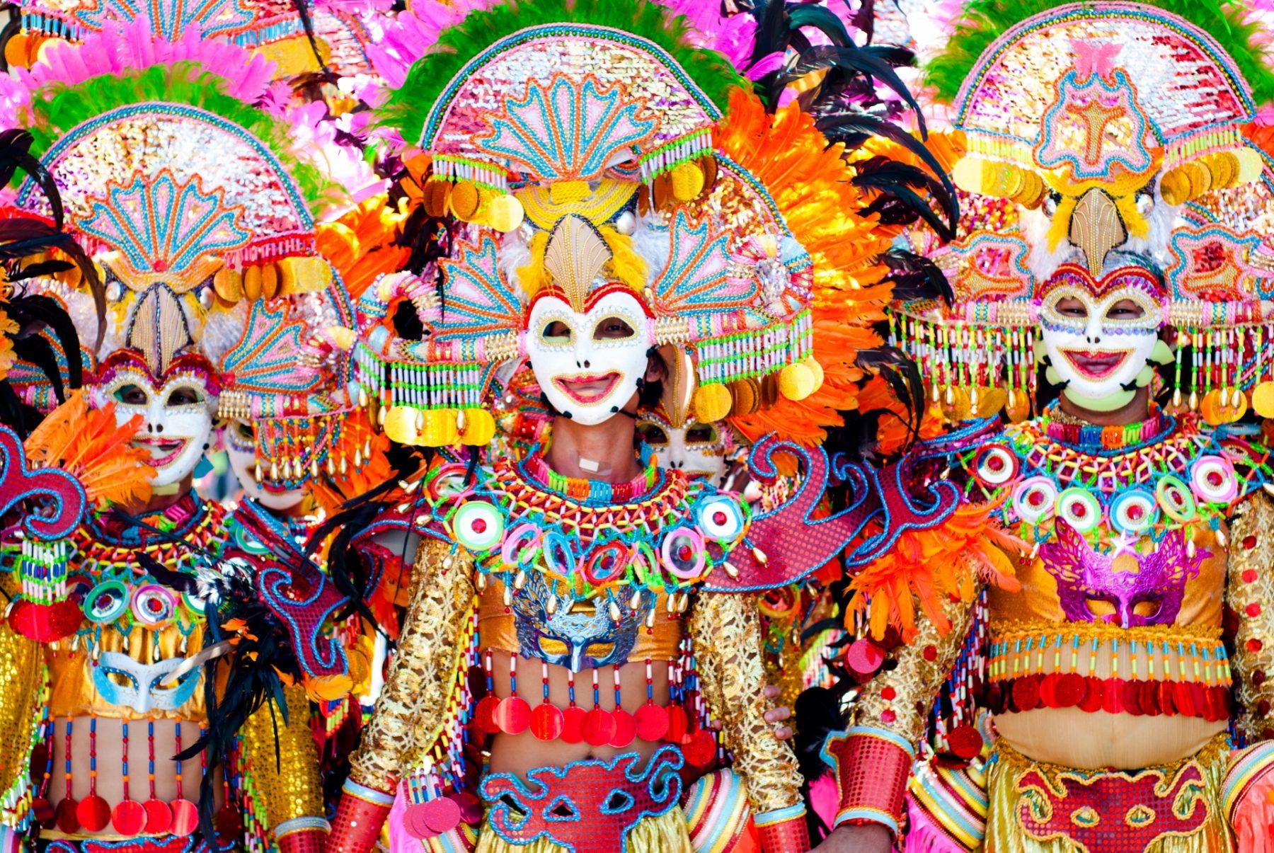 Carnevale nel mondo viaggio Filippine Masskara