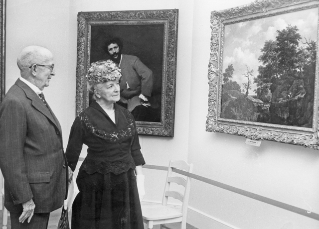 Sterling e Francine Clark all'inaugurazione del Museo, nel 1955. © The Clark Art Institute