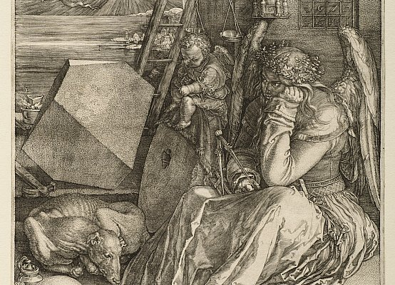 Albrecht Dürer, Melencolia I, 1514. Incisione su carta, 23.8 x 18.7 cm. © The Clark Art Institute.