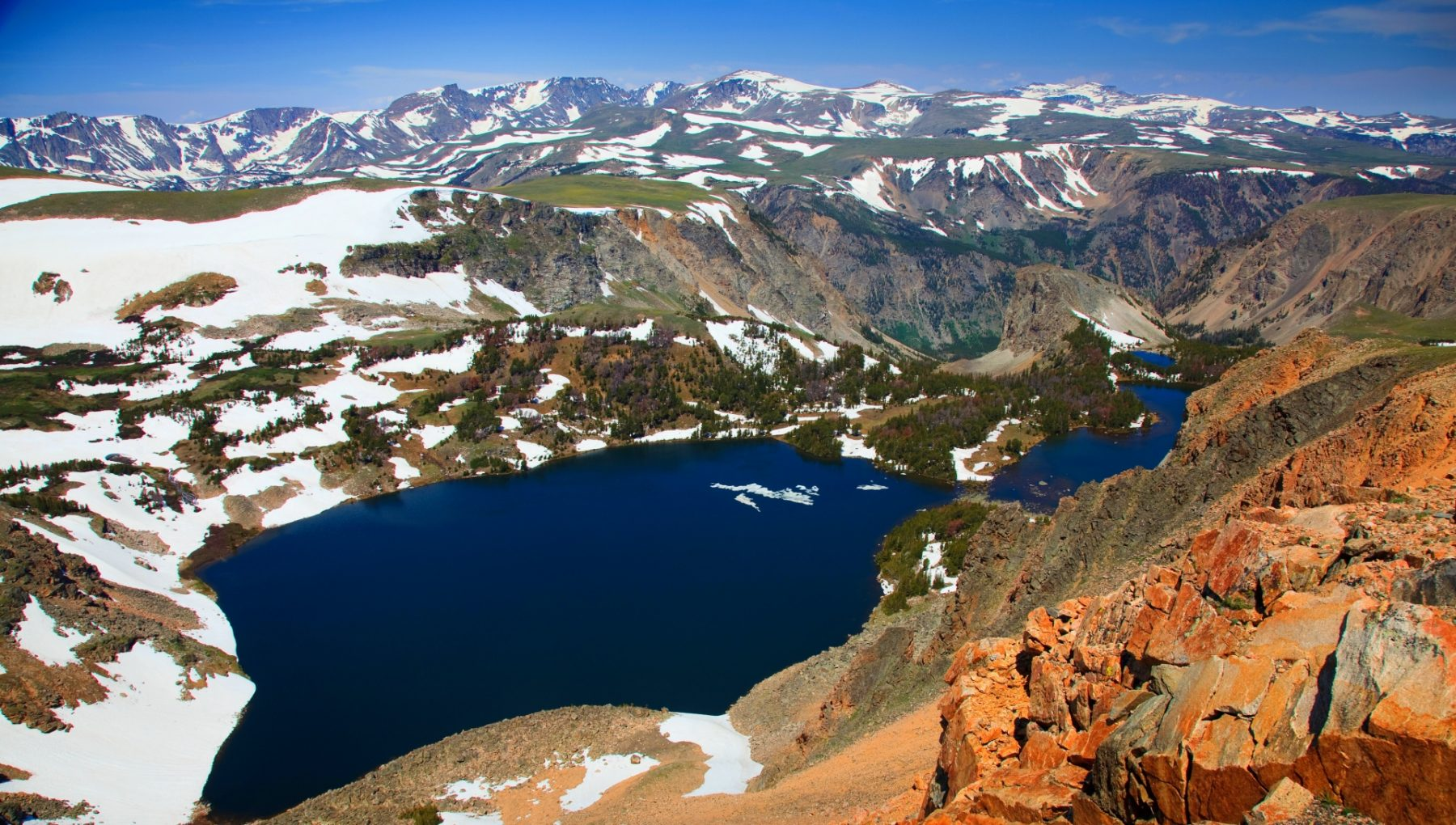 Strade panoramiche in Wyoming e Montana Beartooth 1