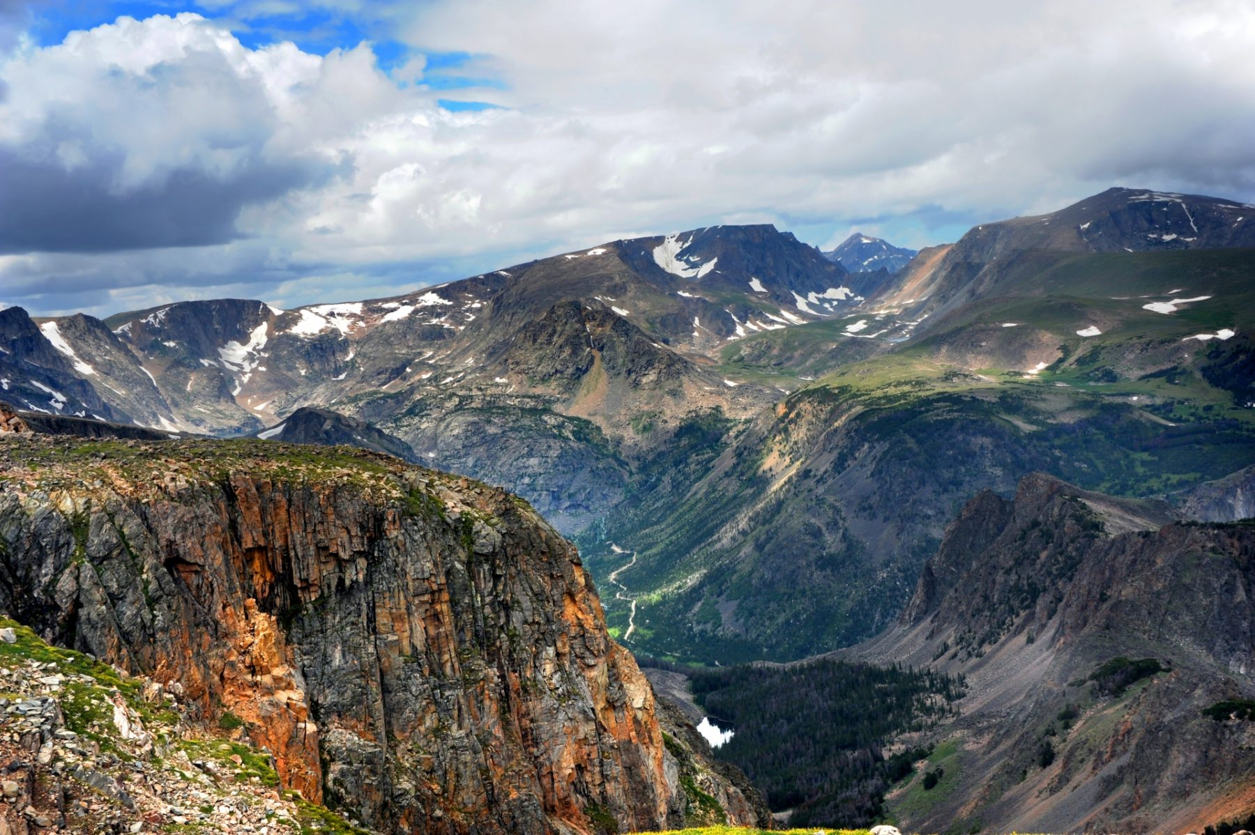 Strade panoramiche in Wyoming e Montana Beartooth Top